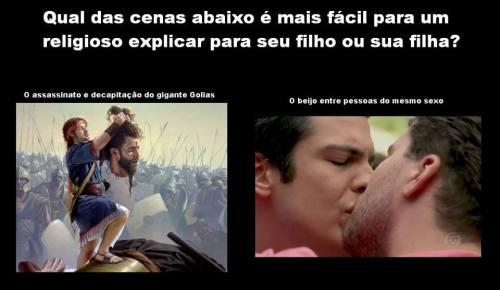 Golias ou beijo gay